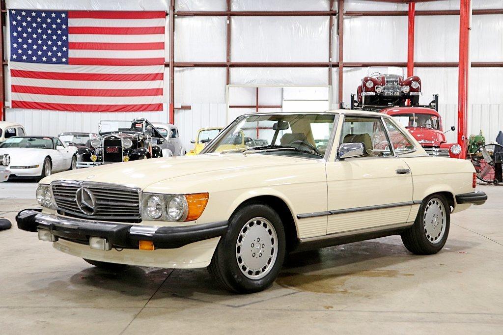 1988 mercedes benz 560sl