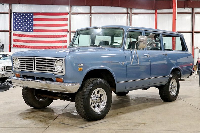 Details about 1973 International Harvester Travelall --