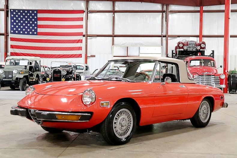 1974 Alfa Romeo Spider For Sale