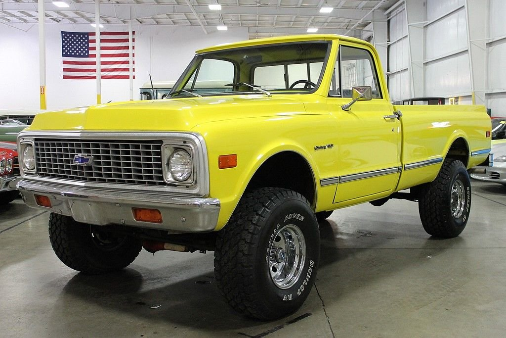 1971 chevrolet k 10