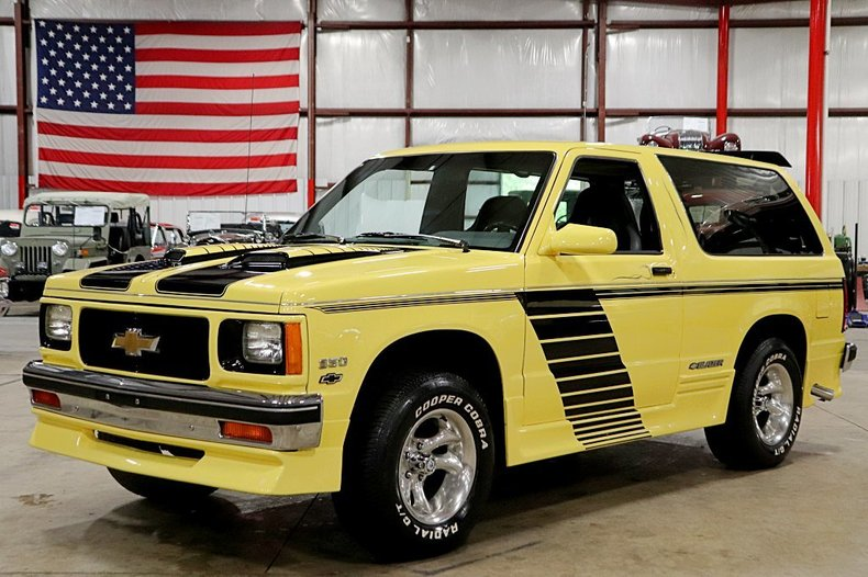 Cool 1987 Chevrolet S10 Blazer For Sale 167158 Motorious Ocoug Best Dining Table And Chair Ideas Images Ocougorg