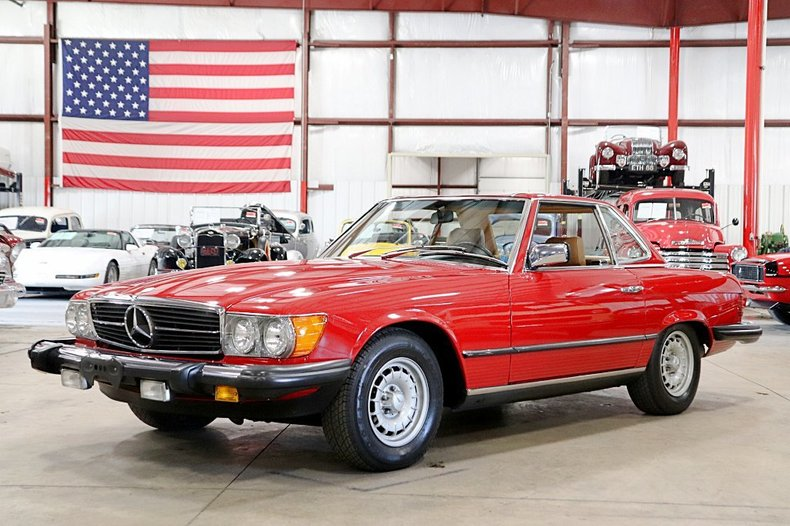 1983 mercedes benz 380sl convertible