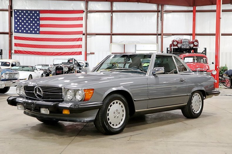 1989 mercedes benz 560sl convertible