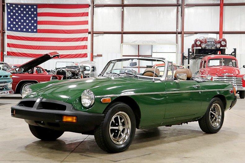1977 mg b convertible
