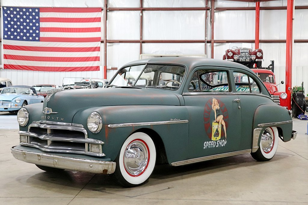 1950 plymouth deluxe custom