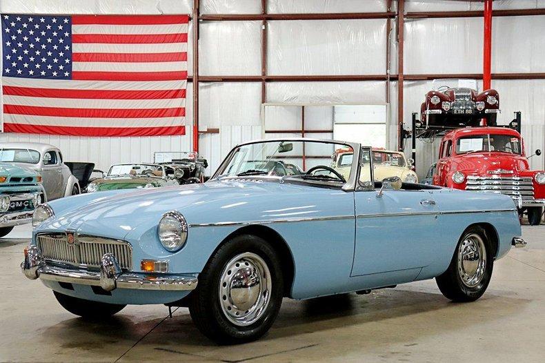 1964 mg b convertible