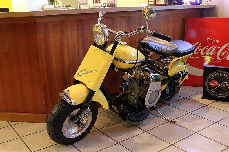 1951 cushman eagle vintage scooter