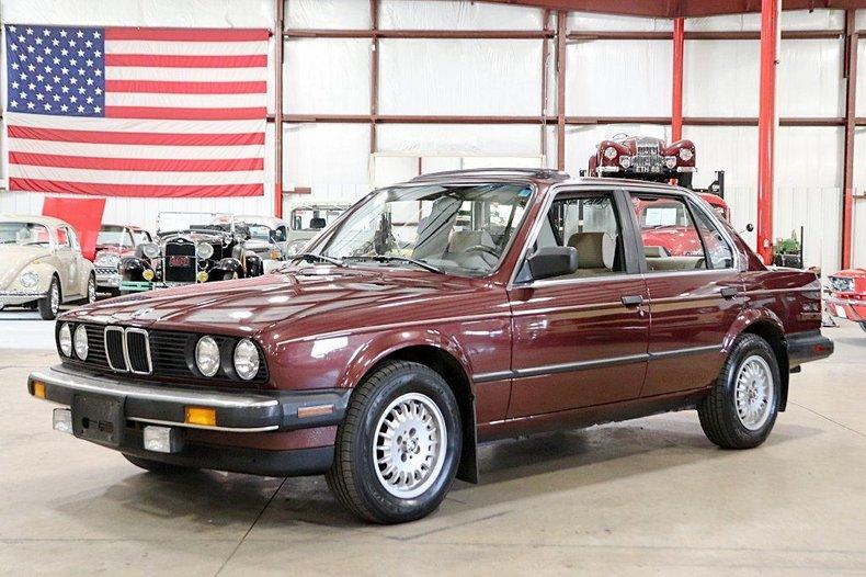 1986 BMW 325e For Sale