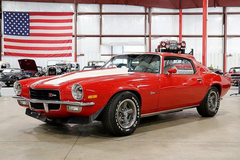 1972 Chevrolet Camaro Z28 For Sale