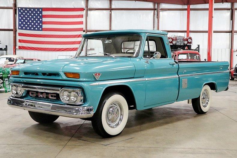 1966 gmc custom 1000 v6