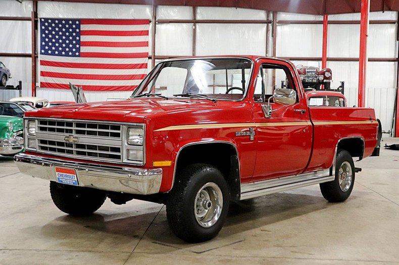 1986 Chevrolet K-10 For Sale