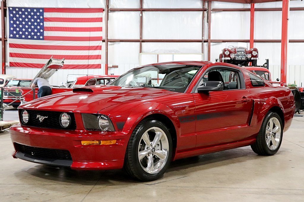 2007 ford mustang gt california special