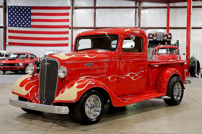 1936 chevrolet pickup street rod