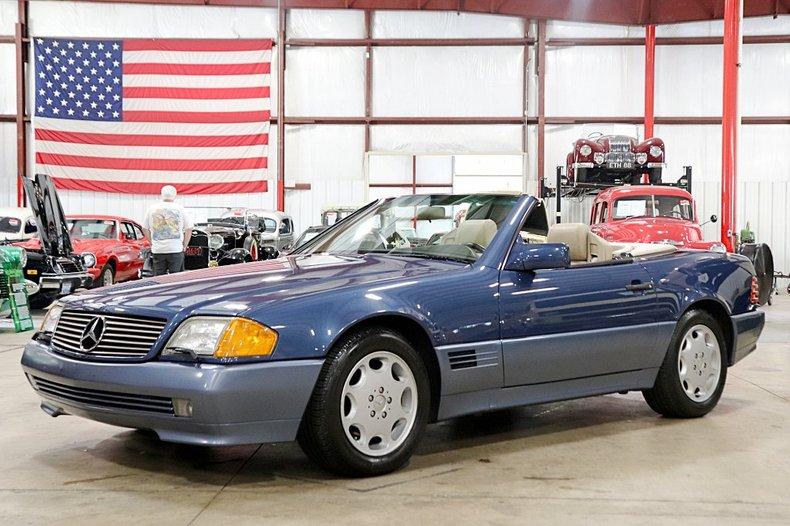 1992 mercedes benz sl500