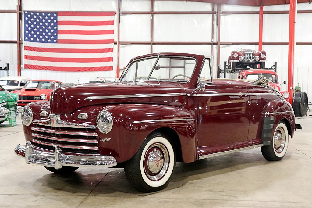 1946 Ford Super Deluxe Gr Auto Gallery