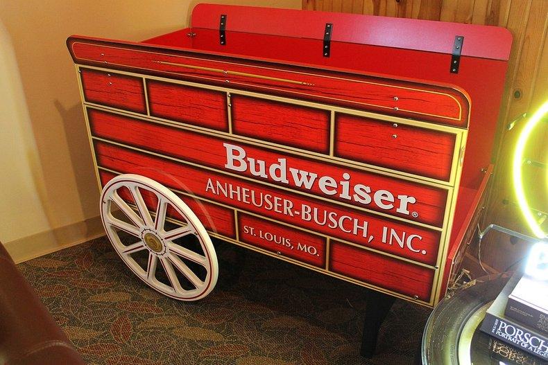 Budweiser clydesdale s cart replica
