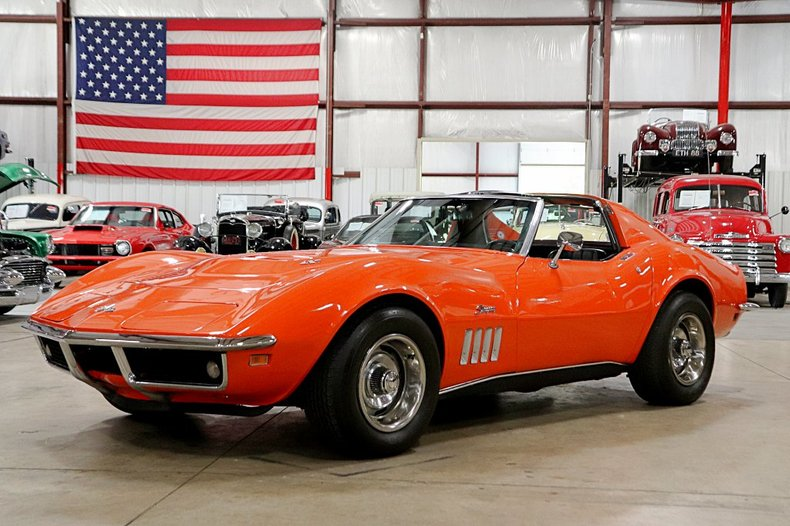 1969 chevrolet corvette stingray 427