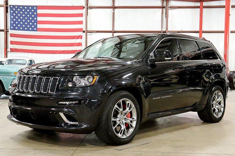2012 jeep grand cherokee srt8
