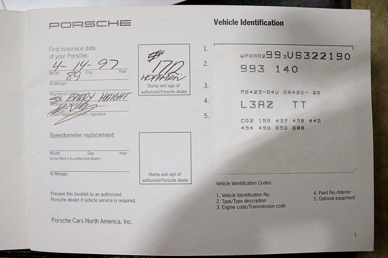 1997 Porsche 911 Carrera 4S for sale #130362 | MCG