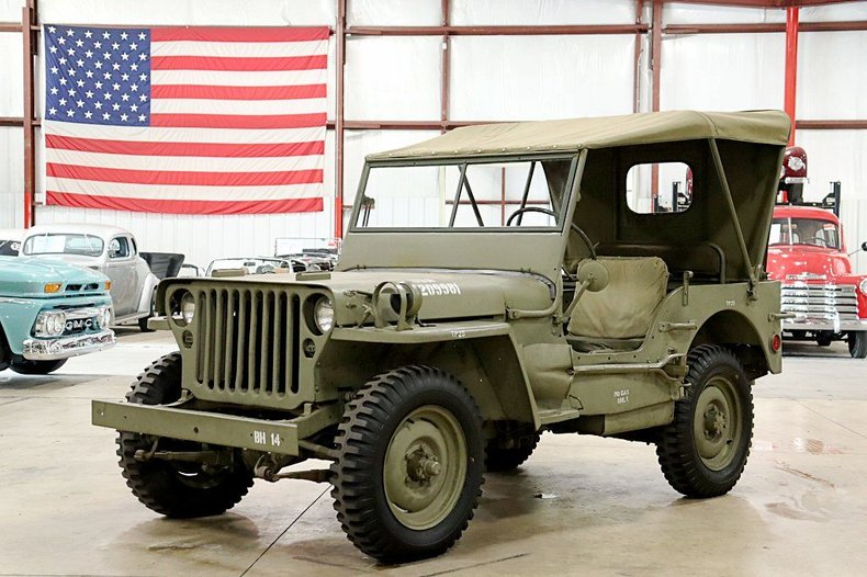 1945 jeep cj 2a
