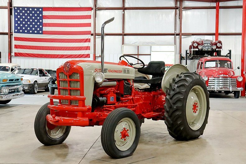 1959 ford tractor 861 diesel