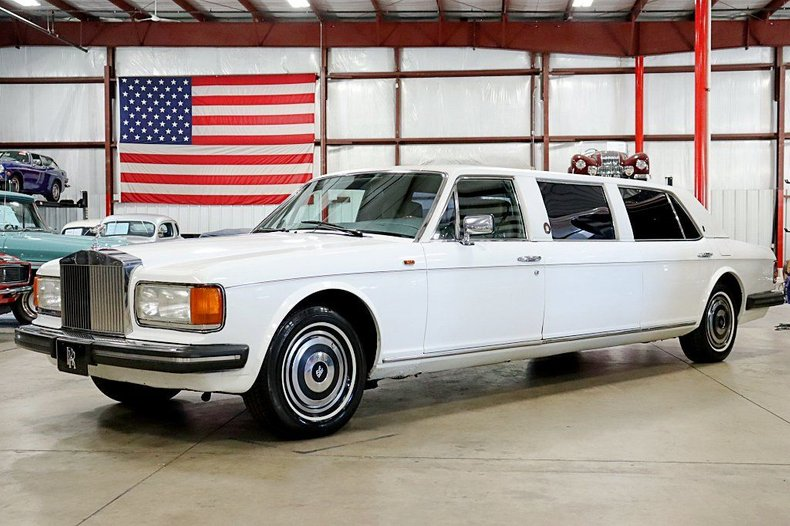 1982 rolls royce silver spur limo