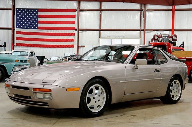 1988 porsche 944 turbo silver rose edition