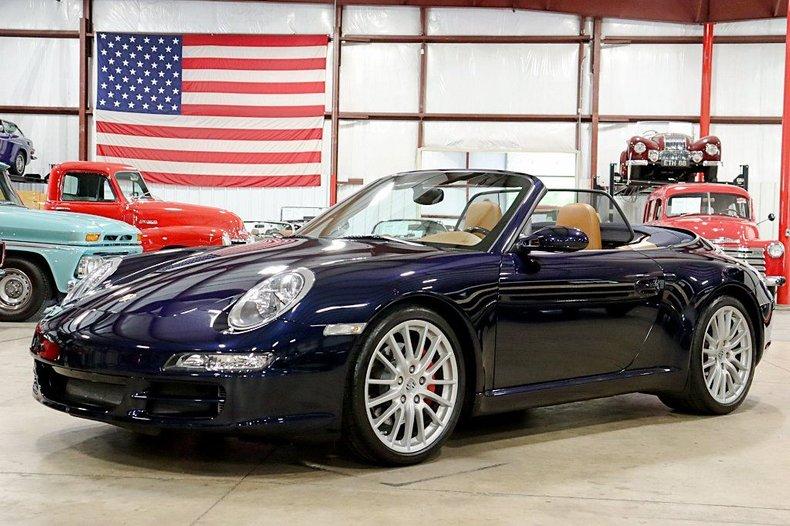 2008 porsche 911 carrera s cabriolet