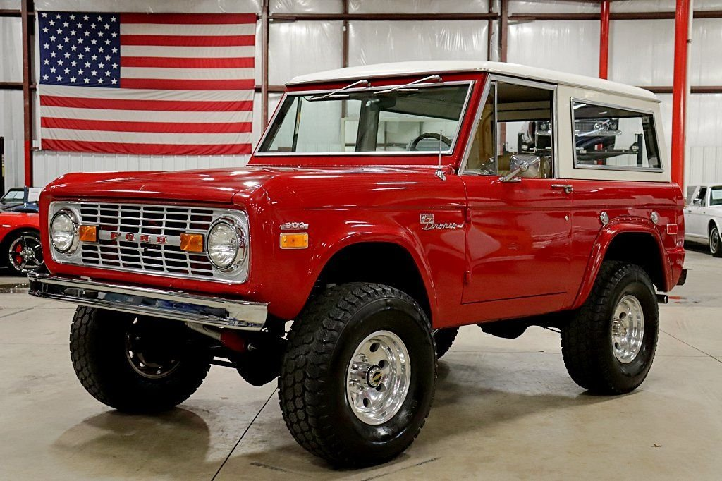 1971 ford bronco sport
