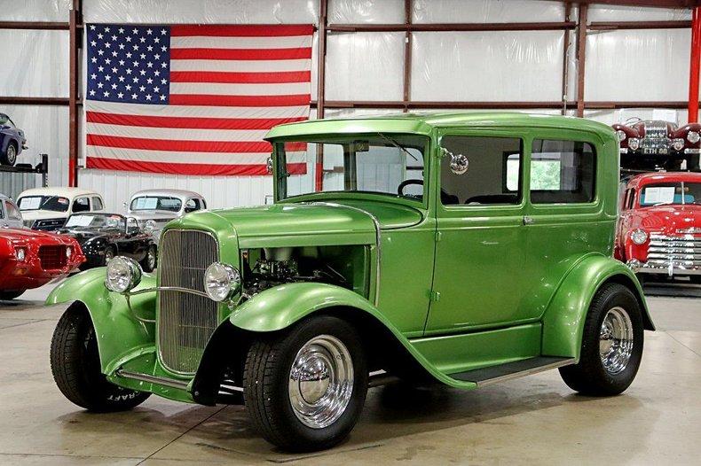 1931 ford model a street rod