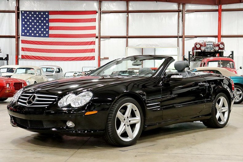 2005 mercedes benz sl500 convertible