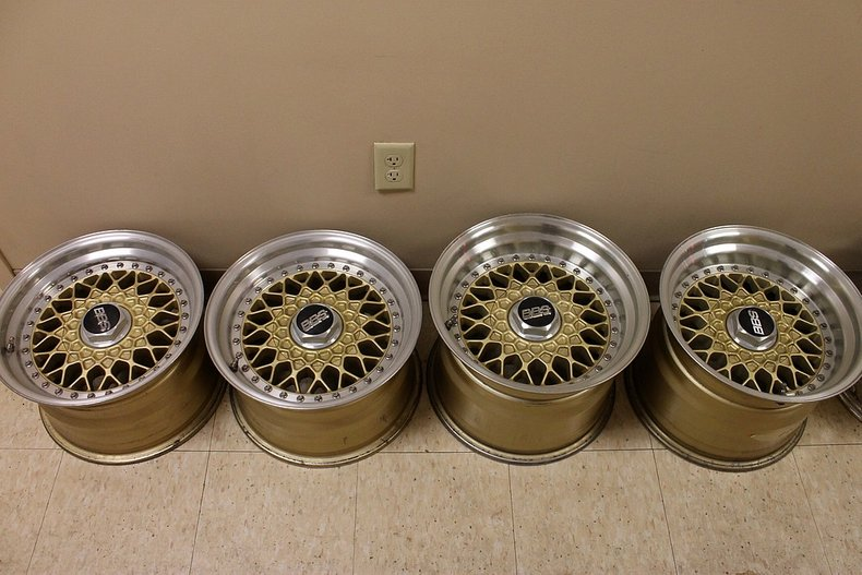 Porsche bbs turbo wheels