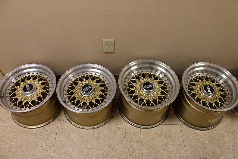 Porsche bbs turbo wheels