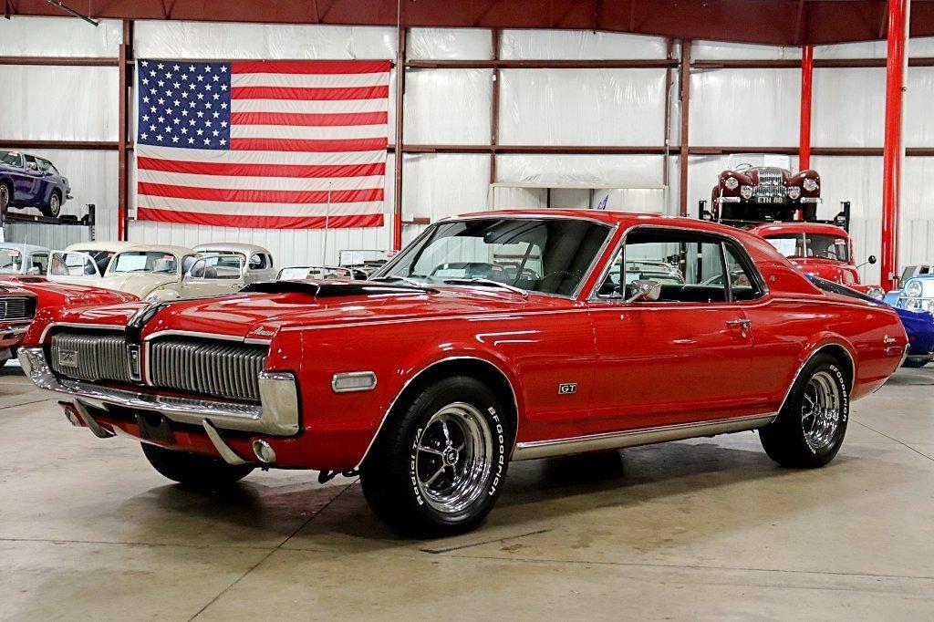 1968 mercury xr7 cougar