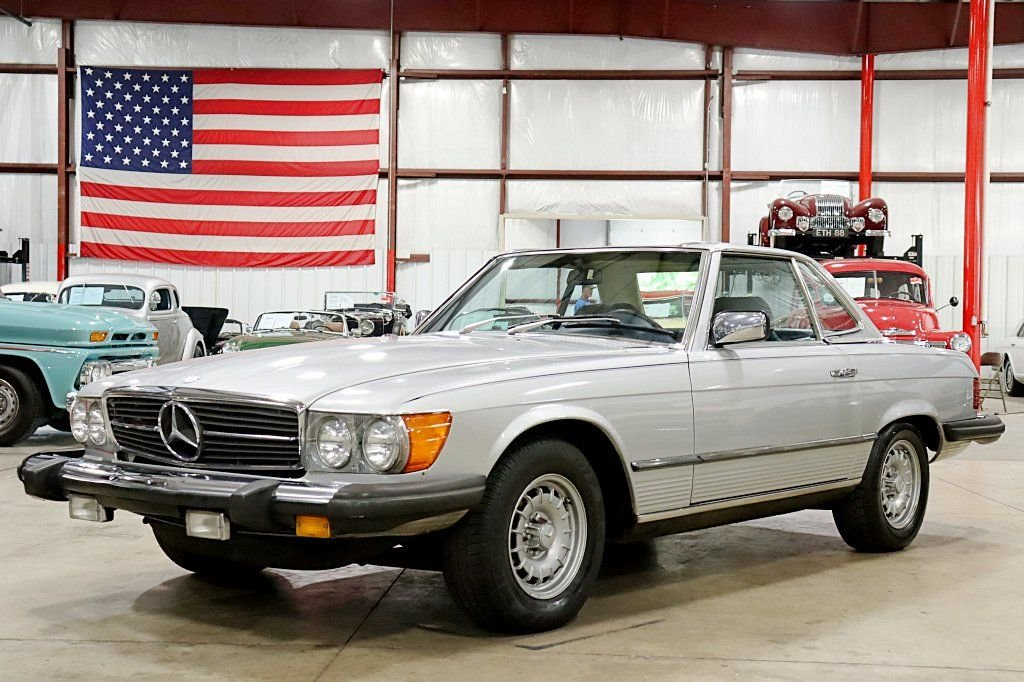 1980 mercedes benz 450sl