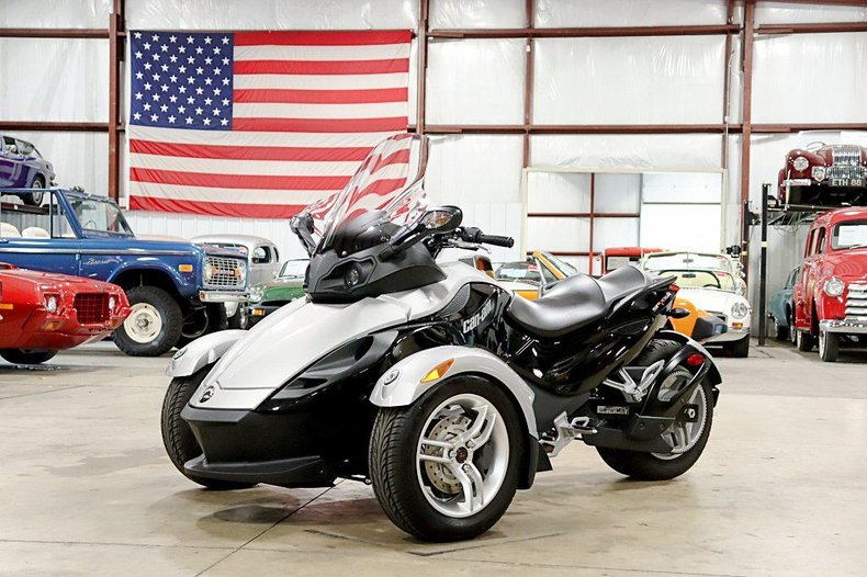 2008 bambardier can am spyder rs