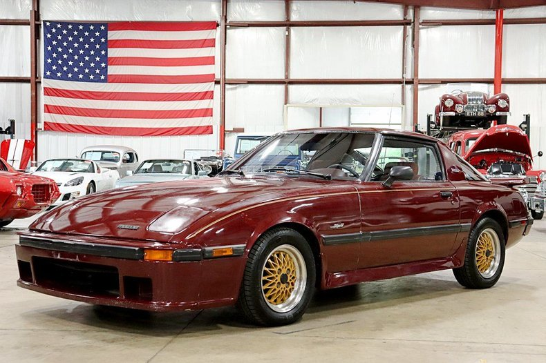 1983 mazda rx 7 limited edition