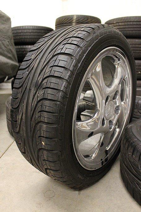 Porsche twist 17 wheels and pirelli p6000 tires