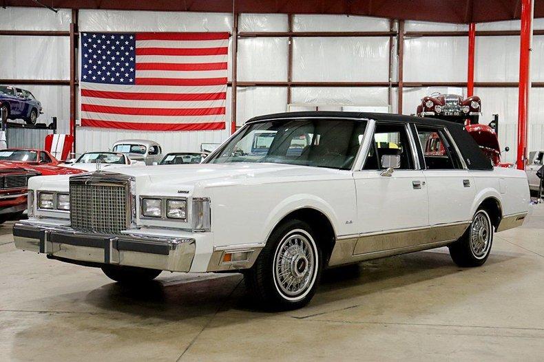 1987 lincoln town car