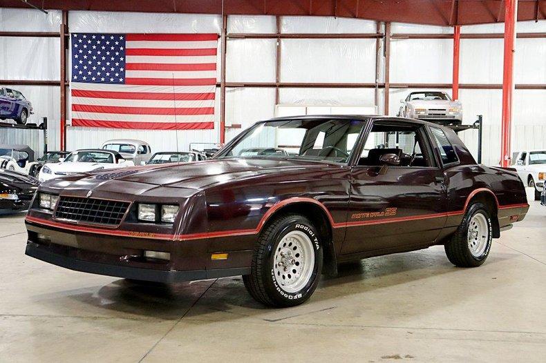 1985 Chevrolet Monte Carlo For Sale