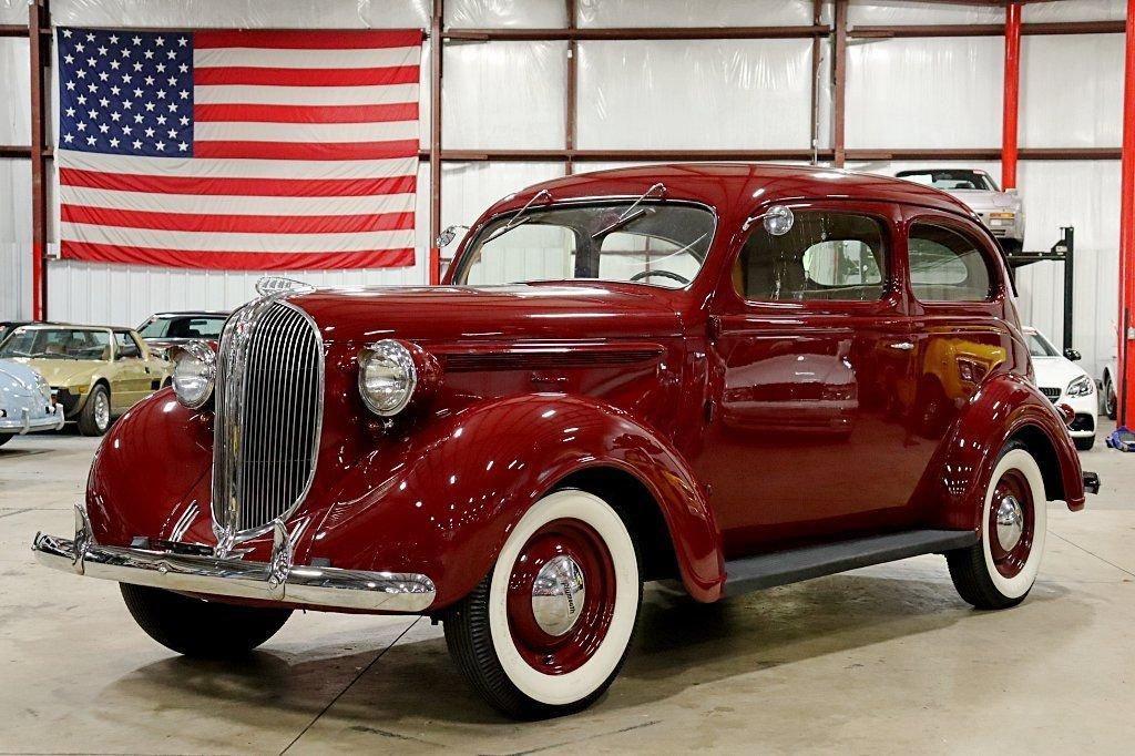 1938 plymouth 2 door sedan
