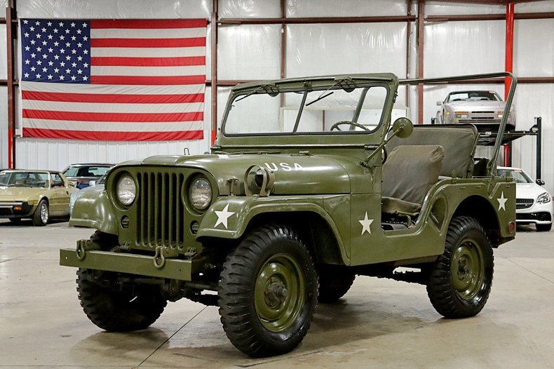 1952 jeep willys cj3