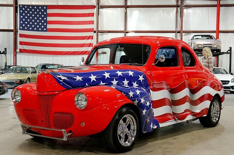 1941 ford 2 door coupe