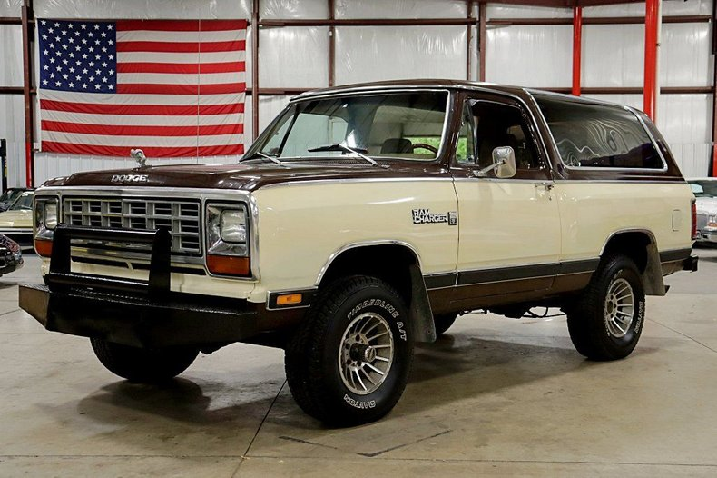 1981 dodge ramcharger 150 royal se