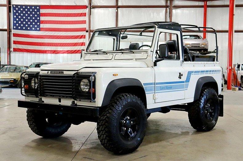 1986 land rover defender 90