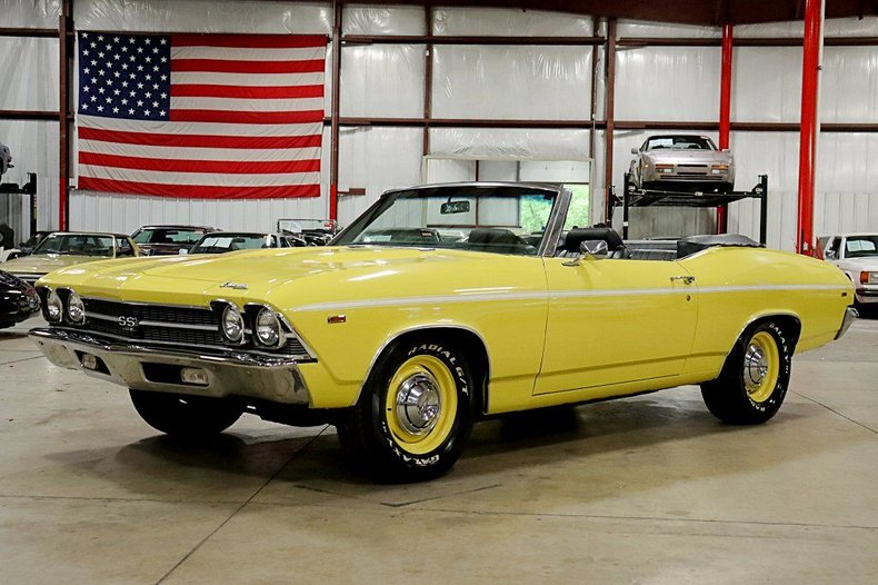 1969 chevrolet chevelle ss 396 convertible
