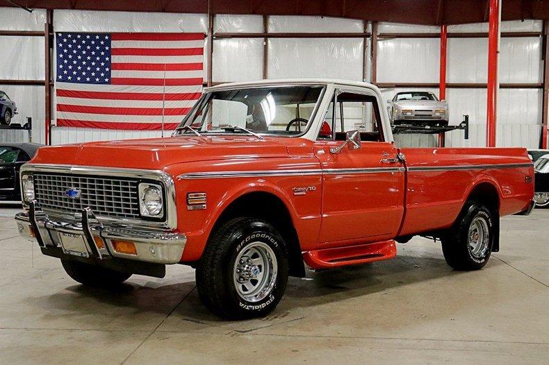 1972 chevrolet k 10 custom