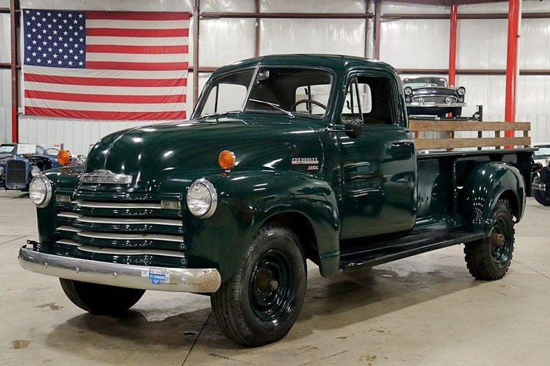 1951 chevrolet 3800 pickup