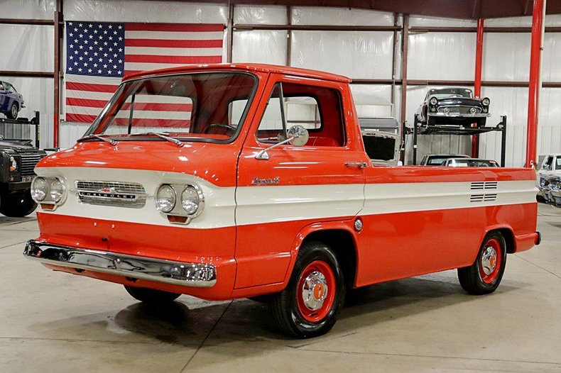 1963 chevrolet corvair 95 rampside