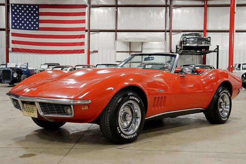 Details About 1969 Chevrolet Corvette Stingray